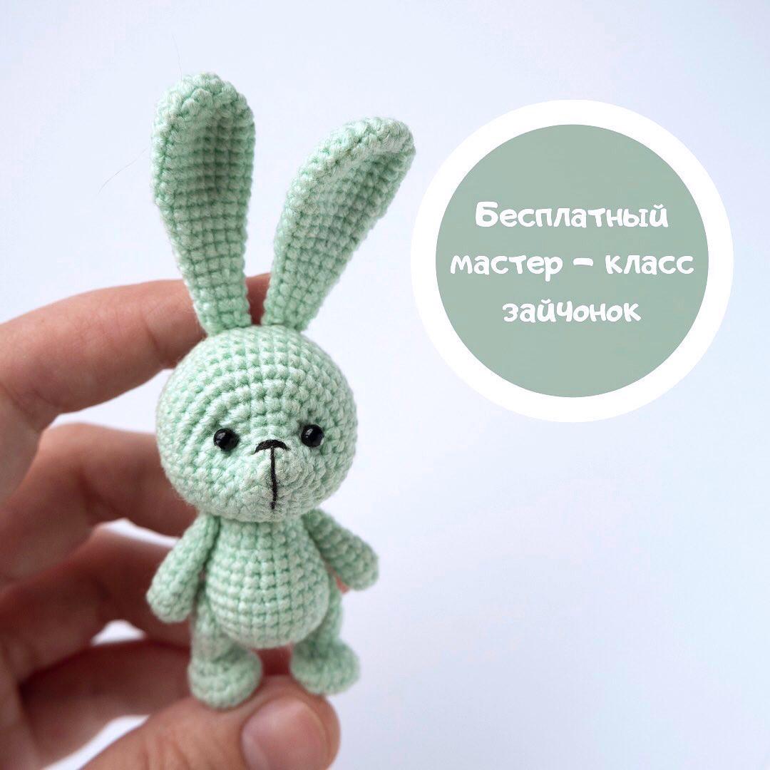 Зайчонок, фото, картинка, схема, описание, бесплатно, крючком, амигуруми