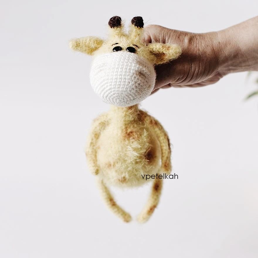 Жираф Антошка, фото, картинка, схема, описание, бесплатно, крючком, амигуруми