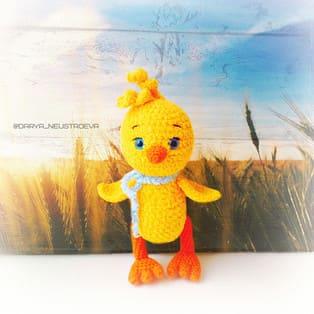 PDF Цыплёнок Цып схема вязаной игрушки крючком