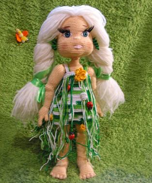 PDF Девочки бывают разные схема вязаной игрушки крючком
