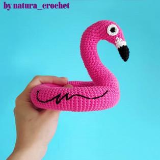 PDF Фламинго схема вязаной игрушки крючком
