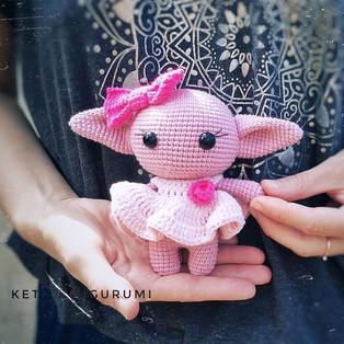 PDF Йода девочка схема вязаной игрушки крючком