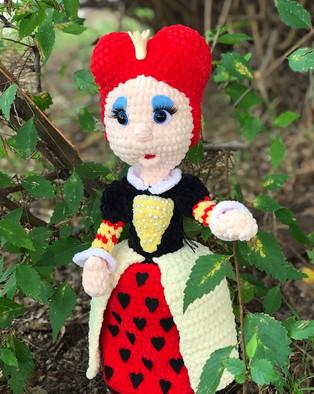 PDF Королева схема вязаной игрушки крючком