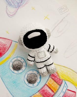 PDF Космонавт схема вязаной игрушки крючком