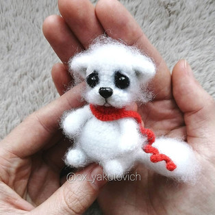 PDF Котёнок Сахарок схема вязаной игрушки крючком