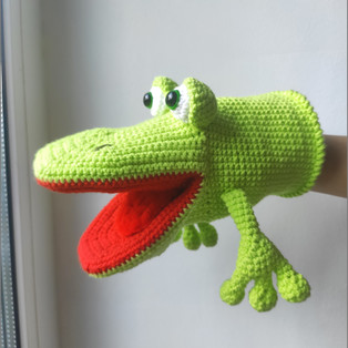 PDF Крокодил схема вязаной игрушки крючком