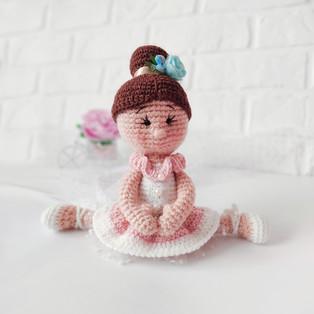 PDF Кукла Ева схема вязаной игрушки крючком