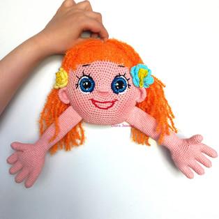 PDF Кукла Мирилка схема вязаной игрушки крючком