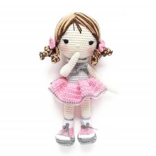 PDF Кукла Сьюзи схема вязаной игрушки крючком
