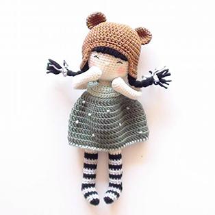 PDF Куколка Элси схема вязаной игрушки крючком