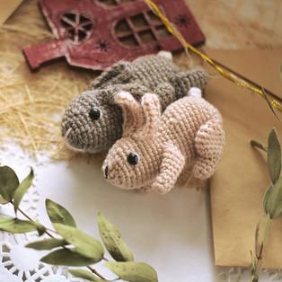 PDF Маленький Кроль схема вязаной игрушки крючком