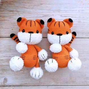 PDF Малыш тигрёнок схема вязаной игрушки крючком