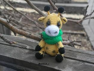 PDF Малыши жирафики схема вязаной игрушки крючком