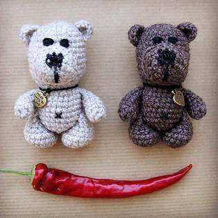 PDF Медвежонок Батыр схема вязаной игрушки крючком