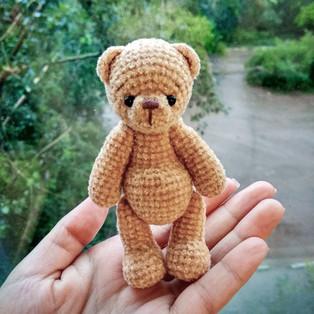 PDF Медвежонок Бежик схема вязаной игрушки крючком