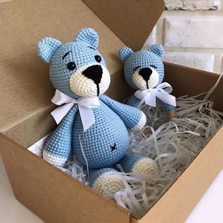 PDF Медвежонок Тима схема вязаной игрушки крючком