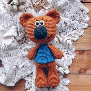 PDF Мимимишка Кеша схема вязаной игрушки крючком