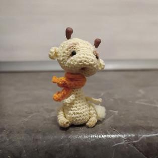 PDF Мини жирафик схема вязаной игрушки крючком