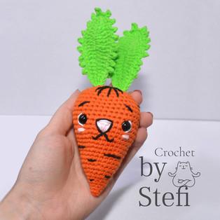 PDF Моркунья схема вязаной игрушки крючком