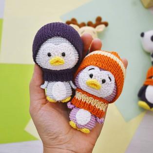 PDF Пингвин схема вязаной игрушки крючком