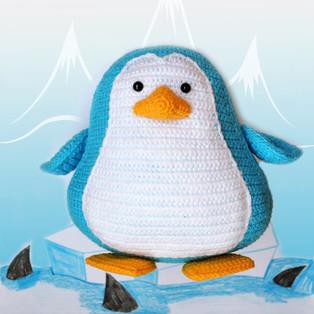 PDF Пингвинёнок схема вязаной игрушки крючком