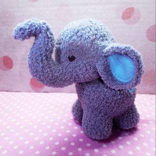 PDF Плюшевые слоники схема вязаной игрушки крючком