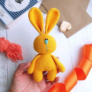 PDF Солнечный зайчик схема вязаной игрушки крючком