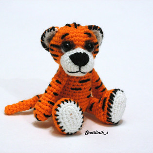 PDF Тигр-р-р схема вязаной игрушки крючком