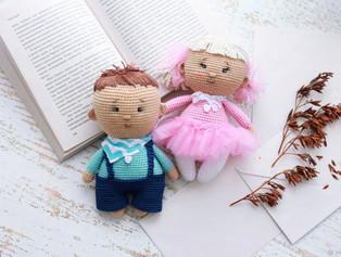 вязаные пупсы амигуруми Pdf схемы и описания для вязания игрушек