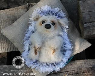 PDF Ёжик Шуршик схема вязаной игрушки крючком