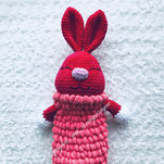 Зайка Пижамница бесплатная схема амигуруми